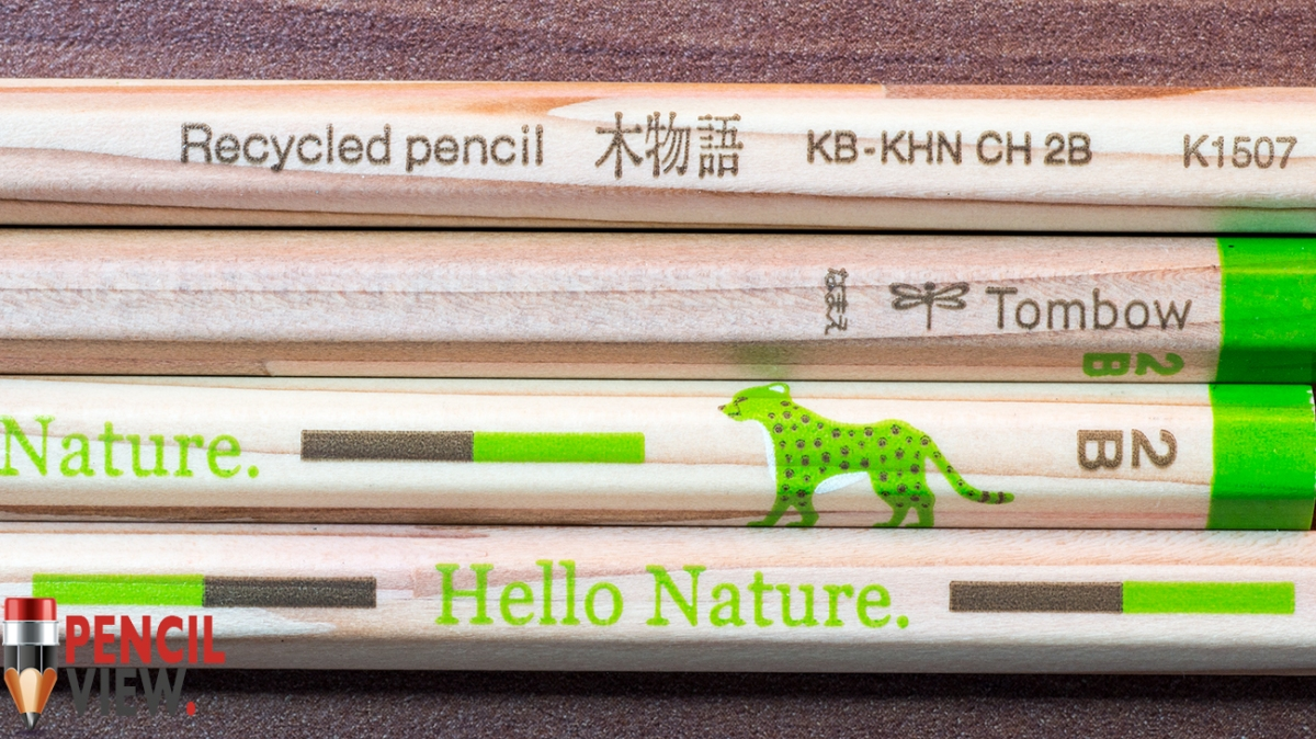 Pencil Tombow Ippo Hello Nature Cheetah Edition 2B